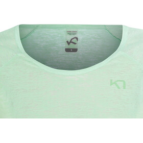 Kari Traa Pia LS - Camiseta de manga larga Mujer - Turquesa